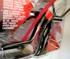 【送料が安い!】スリングショット「レーザーホークIII タロングリップ」MARKSMAN製