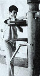 【カンフー】 木人1(木人椿、木人[木庄]) ブルース・リーも使用 超現実的サンドバッグ(木製)