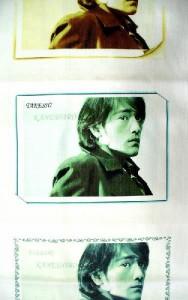 金城武 フェイスタオル4
