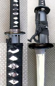 逆刃刀【さかばとう】高級版+紫の刀剣袋付属