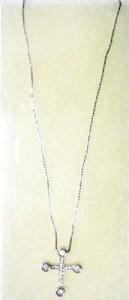 東方神起U Know スタイル「ライジング・クロス・ネックレス」 (チェーン40cm)