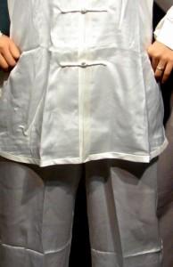 太極拳パンツ(太極拳表演用ズボン) 白色