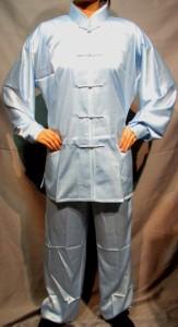 太極拳パンツ(太極拳表演用ズボン) 水色