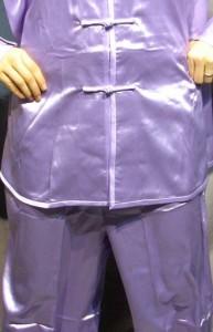 太極拳パンツ(太極拳表演用ズボン) 薄紫色