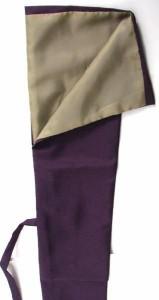小刀用紫刀袋(裏地付)