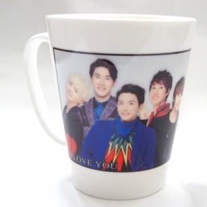 Super Junior 陶器製V型マグカップ2