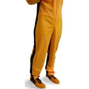 ブルース・リー / 死亡遊戯 イエロー・トラックスーツ(廉価版)【リニューアル・濃橙色で再入荷】