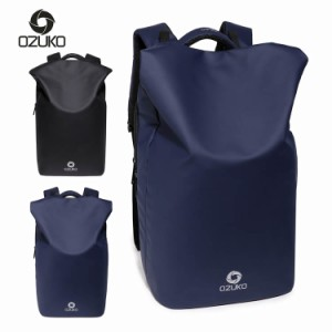 91018ebd7a4f OZUKO バックパック リュック サック メンズ カジュアルバッグ スクールバッグ 通勤バッグ 大容量 1泊
