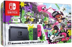 任天堂■Nintendo Switch スプラトゥーン2セット■新品未開封【即納】≪ニンテンドー 本体 ゲーム機≫