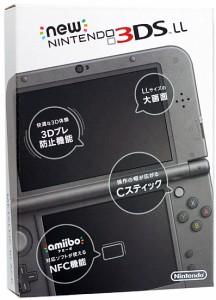 Newニンテンドー3DS LL メタリックブラック■未開封【即納】【送料無料】≪任天堂 ゲーム機≫