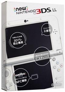 【中古】Newニンテンドー3DS LL パールホワイト◆未使用▼【即納】≪任天堂 ゲーム機≫