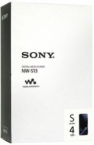 SONYウォークマン Sシリーズ■NW-S13■ブラック/4GB■未開封【即納】【送料無料】≪ソニー WALKMAN MP3プレーヤー≫