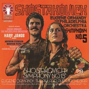 【SACD輸入】 Shostakovich ショスタコービチ / ショスタコーヴィチ:交響曲第5番『革命』 、第15番、コダーイ:ハーリ・ヤー
