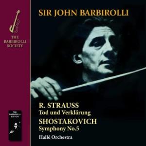 【CD-R】 Shostakovich ショスタコービチ / ショスタコーヴィチ:交響曲第5番『革命』、R.シュトラウス:死と浄化 ジョン・バ