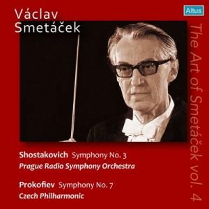 【CD輸入】 Shostakovich ショスタコービチ / ショスタコーヴィチ:交響曲第3番、プロコフィエフ:交響曲第7番 ヴァーツラフ