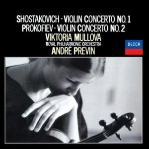 【CD国内】 Shostakovich ショスタコービチ / ショスタコーヴィチ:ヴァイオリン協奏曲第1番、プロコフィエフ:ヴァイオリン