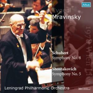 【CD輸入】 Shostakovich ショスタコービチ / ショスタコーヴィチ:交響曲第5番、シューベルト:『未完成』 ムラヴィンスキ
