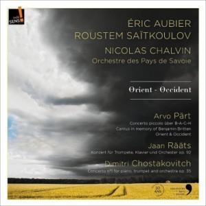 【CD輸入】 Shostakovich ショスタコービチ / ペルト:ピッコロ・トランペット協奏曲、ショスタコーヴィチ:ピアノ協奏曲第1