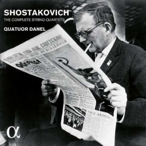 【CD輸入】 Shostakovich ショスタコービチ / ショスタコーヴィチ:弦楽四重奏曲全集 ダネル四重奏団 送料無料
