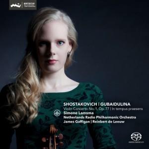 【SACD輸入】 Shostakovich ショスタコービチ / ショスタコーヴィチ:ヴァイオリン協奏曲第1番、グバイドゥーリナ:今この時の