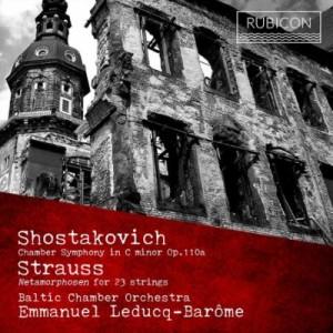 【CD輸入】 Shostakovich ショスタコービチ / ショスタコーヴィチ:室内交響曲、R.シュトラウス:メタモルフォーゼン エマニ