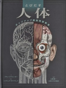 【絵本】 リチャード・ウォーカー / とびだす人体 ポップアップ解剖実習教室 送料無料