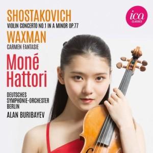 【CD輸入】 Shostakovich ショスタコービチ / ショスタコーヴィチ:ヴァイオリン協奏曲第1番、ワックスマン:カルメン幻想曲