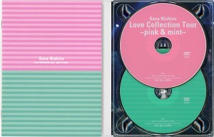 【中古】西野カナ/Love Collection Tour pink&mint(初回盤)/DVD◆C【即納】