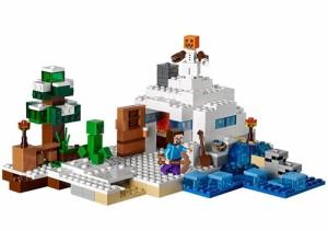 LEGO レゴ マインクラフト 雪の隠れ家 The Snow Hideout 21120◆新品Ss【即納】