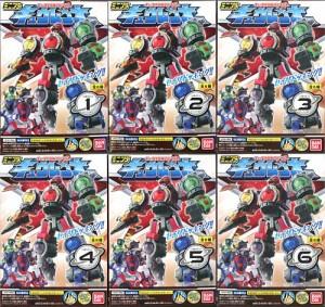 ミニプラ キュータマ合体シリーズ01 キュウレンオー 全6種セット◆新品Nc【即納】【訳あり】