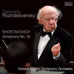 ショスタコーヴィチ:交響曲第10番 ホ短調/ゲンナジー・ロジェストヴェンスキー[CD]【返品種別A】