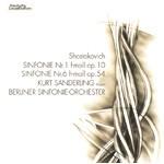 ショスタコーヴィチ:交響曲第1番、第6番/ザンデルリンク(クルト)[CD]【返品種別A】