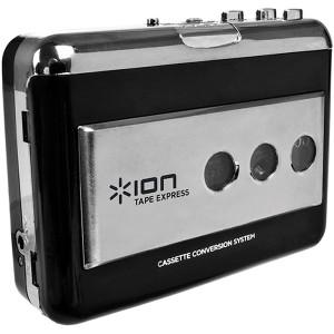 アイオン IA-TPE-004 ポータブルUSBカセットテーププレーヤーion TAPE EXPRESS[IATPE004]【返品種別A】