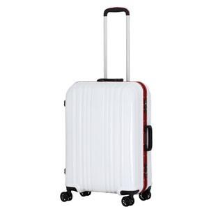 a5b0679c27 シフレ スーツケース ハードフレーム 56L(カーボンホワイト) ESCAPE'S ESC1046-57カ-