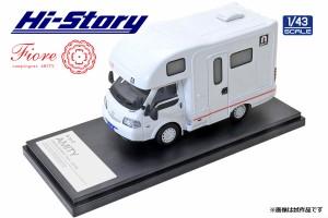 ハイストーリー 1/43 AtoZ AMITY Fiore キャンピングカー (マツダ ボンゴトラック 2019) レッドライン【HS313RE】ミニカー  返品種別B