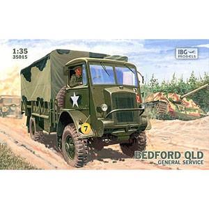 IBG 1/35 英・ベッドフォードQLD3トン4輪駆動カーゴトラック【PB35015 ...