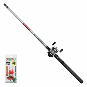 大阪漁具 TSS120 テトラスポットブラクリセット 120OGK 穴釣り 竿リールセット[TSS120] 返品種別A