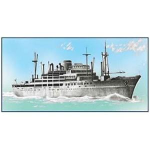 フジミ 1/700 大阪商船所属「あるぜんちな丸」【特-19】プラモデル 【返品種別B】