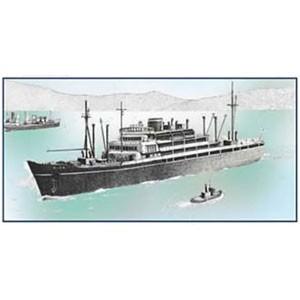 フジミ 1/700 大阪商船所属「ぶらじる丸」【400822】プラモデル 【返品種別B】