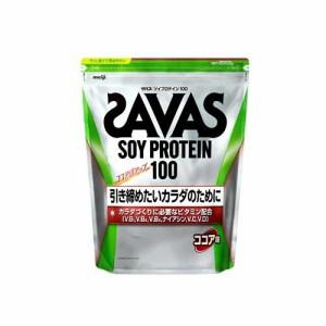 明治 ザバス ソイプロテイン100 ココア味 2100g(約100食分) 返品種別B