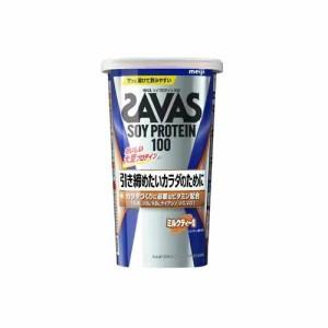 明治 ザバス ソイプロテイン100 ミルクティー風味 231g(約11食分) 返品種別B