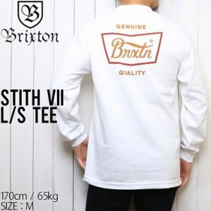 [クリックポスト対応] BRIXTON ブリクストン STITH 7 L/S TEE ロンT 16113