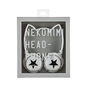 mix-style ネコミミヘッドフォン Star-WH / スター ホワイト