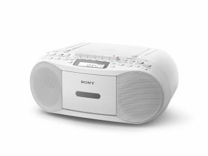 SONY CDラジオカセットレコーダー  CFD-S70-W