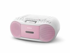 SONY CDラジオカセットレコーダー  CFD-S70-P