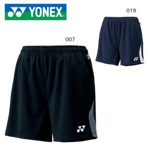 YONEX 15043 ニットストレッチショートパンツ ユニセックス ウェア(ユニ) テニス・バドミントン ヨネックス 2019FW【クリックポスト可/日