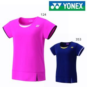 YONEX 16378 ウィメンズドライTシャツ ウェア(レディース) テニス・バドミントン ヨネックス 2019FW【クリックポスト可/取り寄せ】