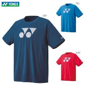 YONEX 16487 ユニTシャツ ウェア(ユニ/メンズ) バドミントン・テニス 2020年春夏モデル ヨネックス【メール便可/取り寄せ】