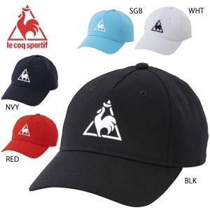 le coq sportif QMBPJC23 メンズコットンキャップ 帽子 マルチトレーニング ルコックスポルティフ 2020春夏【取り寄せ】