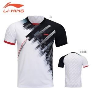 LI-NING AAYR195 ゲームシャツ バドミントンウェア(ユニ/メンズ) リーニン【メール便可】